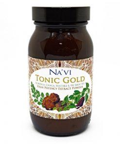 Navi Organics- Tonic Gold 1- Herbal Coffee - Immune Boosting Antioxidant Elixir